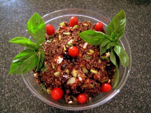 JIM-Mediterranean Red Quinoa Salad